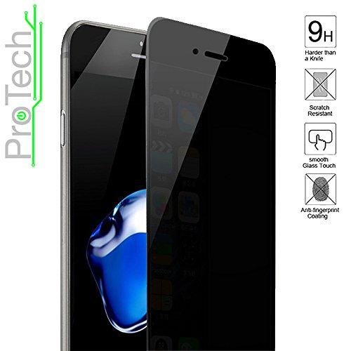 1- Pack iPhone 7 Plus Privacy Anti Spy Anti-Glare Ballistic Tempered Glass...