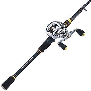 Baitcasting rod and reel combo