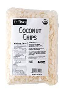 Nutiva Organic Chips, Coconut, 1 Pound, 16 Ounce