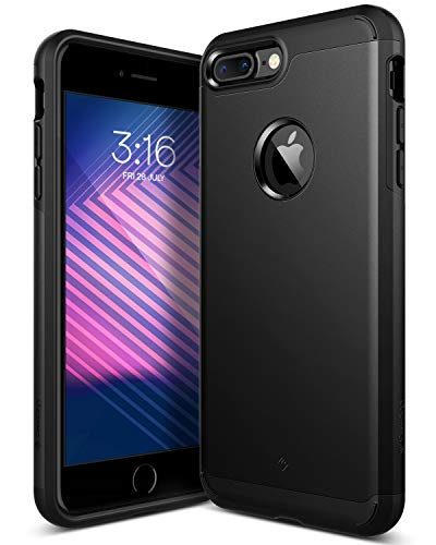 Caseology [Legion Series iPhone 7 Plus Case - [Dual-Layer Armor] - Matte Black