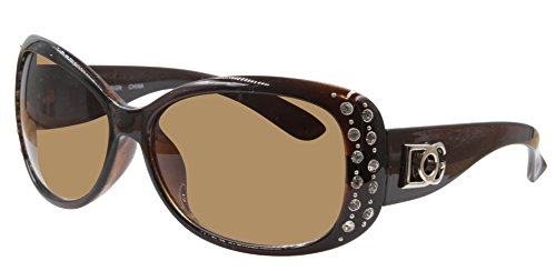 6cc2da097167 DG Sunglasses for Women Oversized Eyewear Fashion - Assorted Styles & Colors  (Brown, SGD357