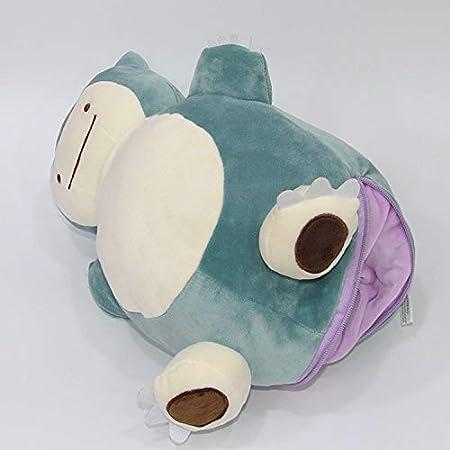 12 /'/' Metamon Pokemon Snorlax Ditto Inside-Out Coussin Peluche Sac Purse Figure