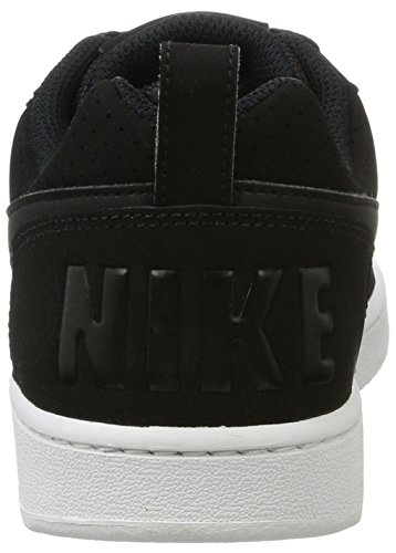 Nike WMNS Court Borough Low, Chaussures de Basketball Femme, Noir (Black/Black/White 001), 40 EU