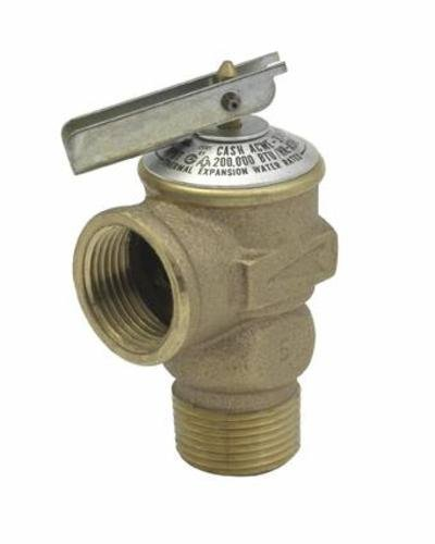 Cash Acme 14917-0075 Pressure Relief Valve, Bronze