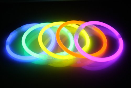 Starlight   - Pulseras luminosas fluorescentes (Lote de 100 unidades)