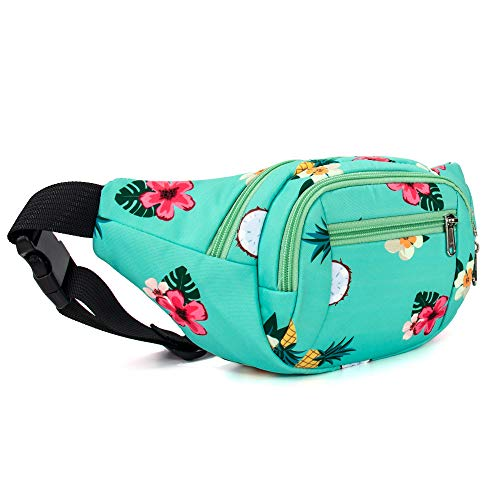 (TOPERIN Pineapple Fanny Pack Waist Bag Water)