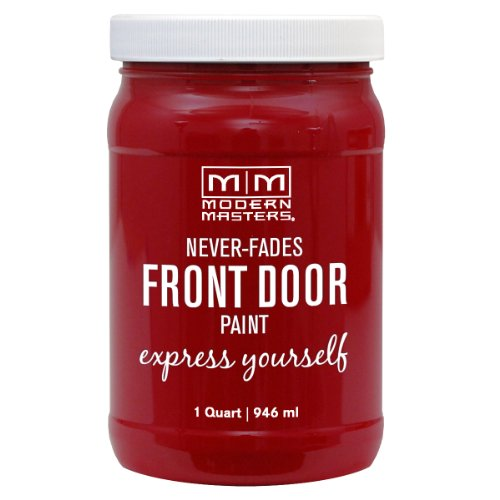 Modern Masters 275264 Satin Front Door Paint, 1 Quart, Sophisticated]()