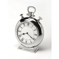 Butler specality company BUTLER 6208365 ALISTAIR NICKEL FINISH DESK CLOCK