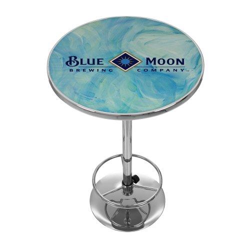 Blue Moon Chrome Pub Table Full Moon Futon