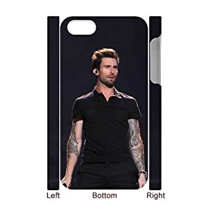 D-PAFD Diy hard Case Adam Levine customized 3D case For Iphone 4/4s