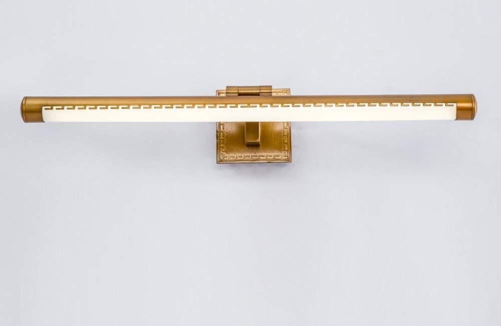 FuweiEncore Chinesische Badezimmer Badezimmer Kommode LED Spiegel Frontleuchte Kabinett Lichter (Größe  39  16,5 cm (8 w)) (Farbe   39  16.5cm (8w), Größe   -)