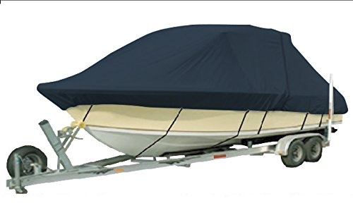 Hardtop Boat Cover (Vehicore Heavy Duty T-top Hard Top Boat Cover for Seaswirl Striper 2100 WalkAround Cuddy Fishing Navy)