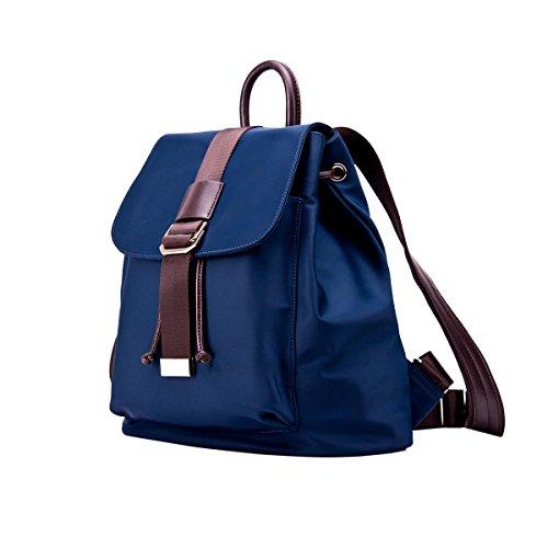 Yy.f Nuevos Bolsos De Viaje Bandolera Oxford Gran Capacidad Tendencia De La Moda Mochila Impermeable 3 Colores Blue