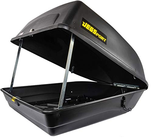 JEGS 90098 Rooftop Cargo Carrier   18 cu. ft   Waterproof   Made in USA