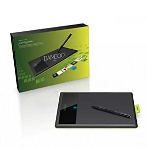 Wacom Bamboo Pen - Tableta gráfica (Alámbrico, USB, 147 x 92 mm, Mac OS X 10.5 Leopard, 395g, 150 x 118 mm) Negro