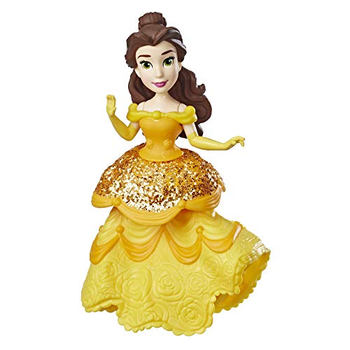 Disney Princess Belle Doll with Royal Clips Fashion, One-Clip ()