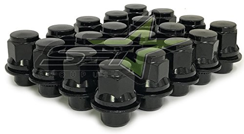 Mag Wheel Nuts - SET 20 Toyota OEM Factory MAG Lug Nuts 12x1.5 (Black)