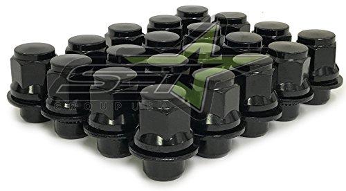SET 20 Toyota OEM Factory MAG Lug Nuts 12x1.5 (Black)