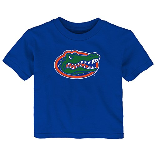 NCAA Florida Gators Infant Primary Logo Short Sleeve Tee, 24 Months, Royal