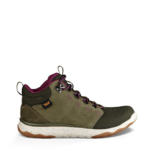 Teva Women's W Arrowood Mid Waterproof Hiking Boot, Olive, 9.5 M US by Teva