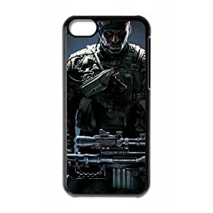 ghost warrior iPhone 5c Cell Phone Case Black xlb2-078087