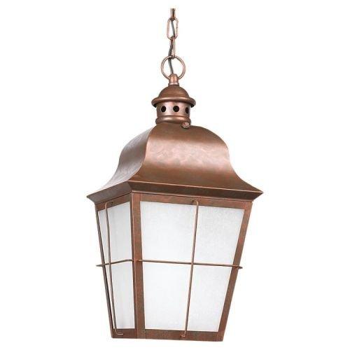 Sea Gull Lighting Copper Outdoor Pendant - 4