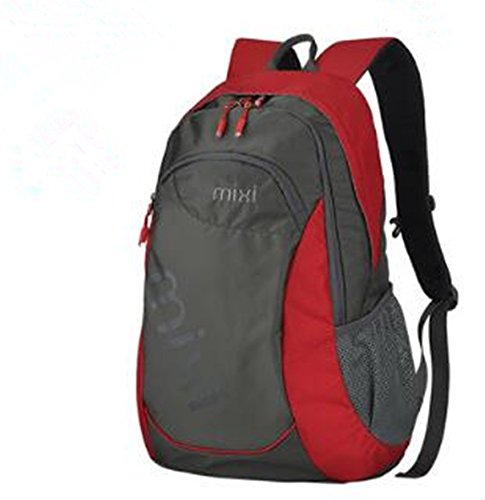 Red Larger version Limit Casual movement backpack backpack Schoolbag middle School student fashion trend High capacity tourism Travel bags(Larger version)