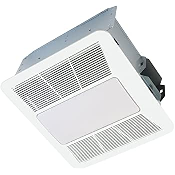 Kaze Appliance Se90tl2 Ultra Quiet 90 Cfm 0 3 Sones Bathroom Exhaust Fan With Led And Night