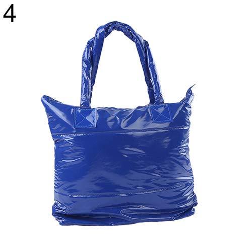 Bangle009 Femme De Bleu Coréen Bale Bandoulière 39cm Espace Main Coton By Fourre Silver 9m tout Style Décontracté 34cm nbsp;liquidation À 1 Sac Stock rprwxqAt