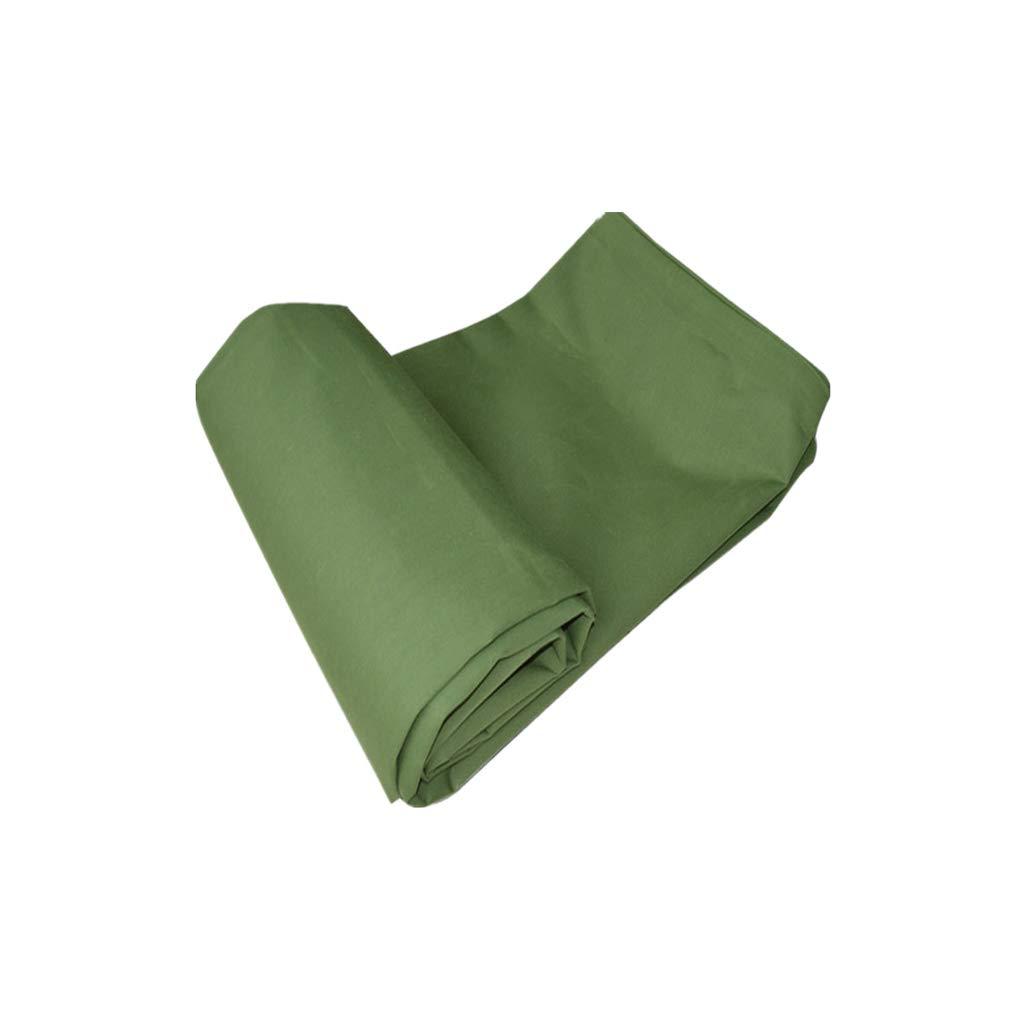 Love Home Plane Sonnencreme Verdickung LKW Baldachin Isolierung Schatten Tuch Outdoor Canvas Regen Tuch Armee Grün 3-8 mt (größe   5  6M)