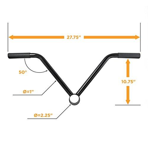 CAP Barbell Landmine T-Bar Attachment, 2-Inch Olympic