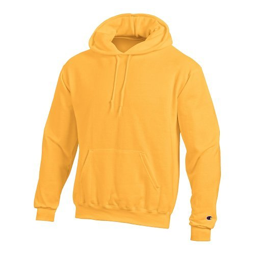 Champion Eco 9 Oz. Pullover Hood, Medium, Gold ()