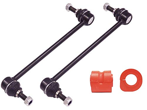 FRONT SWAY BAR LINKS+BUSHINGS FOR 2001-2007 CARAVAN TOWN COUNTRY/VOYAGER 2001-2003 ()
