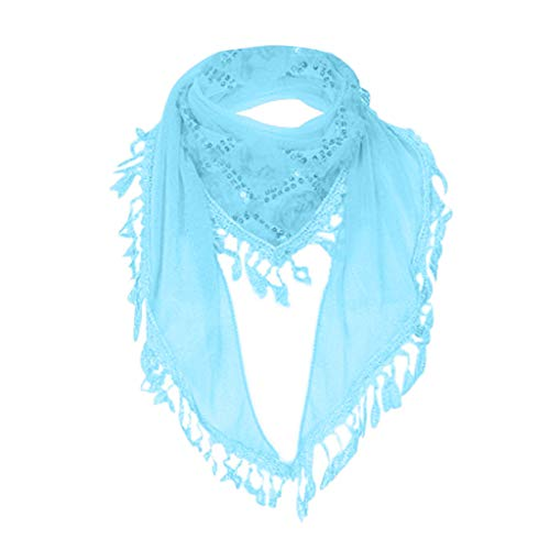 HTHJSCO Shawls and Wraps for Evening Dresses, Soft Chiffon Wedding Shawl Wrap Fringes Scarf for Women