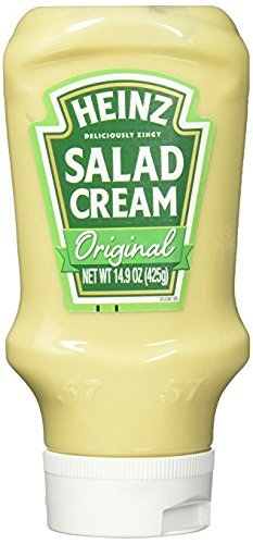 Heinz Cream (Heinz Salad Cream Original 425G (From England) (2))