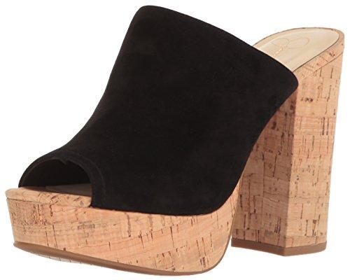 Jessica Simpson Women's Giavanna Heeled Sandal, Black, 8 Medium US by Jessica Simpson