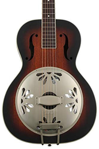Gretsch G9240 Alligator Mahogany Round Neck Resonator - 2-color Sunburst, Padauk Fingerb ()