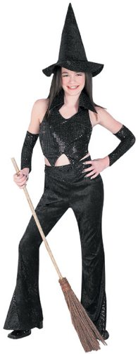 Sequin Witch Teen Costume, Tween 12-16