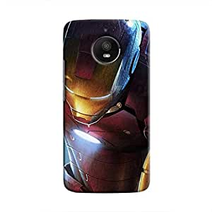 Cover It Up - Ironman Kneeling Moto E4 Plus Hard Case