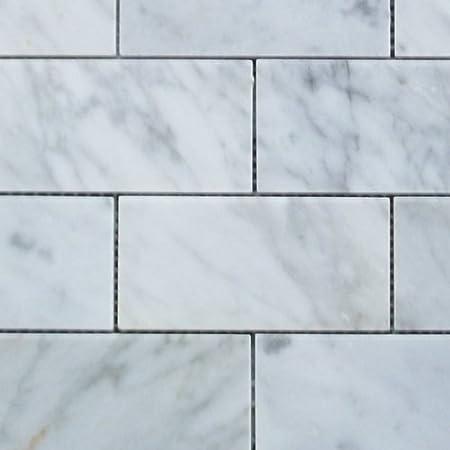 white grand brick subway mosaic tile polished marble amazon carrara kitchen backsplash home depot tiles wholesale