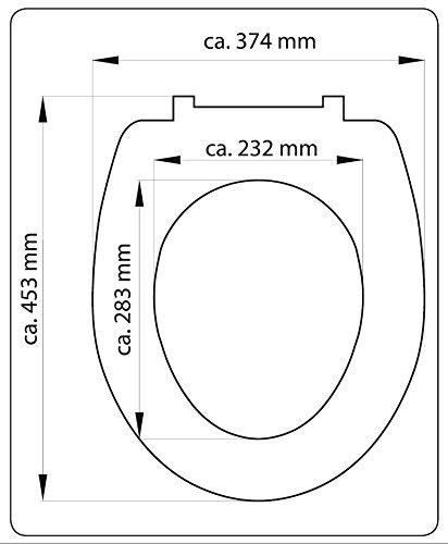 Eisl WC Sitz WOOD WOOD WOOD HEART, Duroplast, mit Absenkautomatik und Schnellverschluss, Motiv, ED69WHEART B01ABMZQ4G WC-Sitze 543e07
