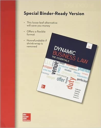 LooseLeaf For Dynamic Business Law Free Download