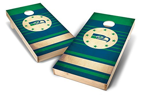 PROLINE NFL 2'x4' Seattle Seahawks Cornhole Set - Nostalgia Design [並行輸入品]