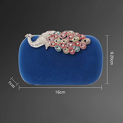 Azul Enjoysports Red De Mano Para Cartera Mujer Rojo 8cU8w1gq