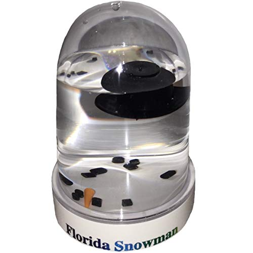 The Original Florida Melted Snowman snowglobe -