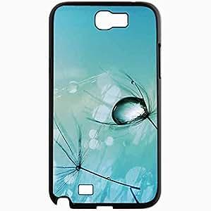 Unique Design Fashion Protective Back Cover For Samsung Galaxy Note 2 Case Light Drop Nature Black