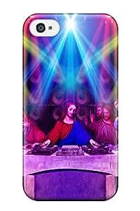 Hot Design Premium GkkEUKi4011LwDYk Tpu Case Cover Iphone 4/4s Protection Case(dj Music People Music)