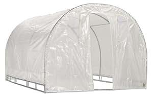 "Weatherguard 6'6""Hx8'Wx12'L Round Top Greenhouse"