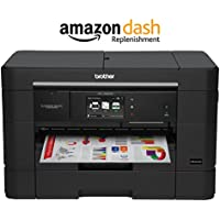 Brother MFC-J5920DW Spend Less for More Pages with INKvestment Cartridges, Amazon Dash Replenishment Enabled