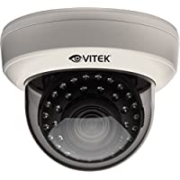 Vitek CCTV VTD-AR2812/IWM Indoor IR Dome Camera (White)